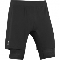 Cuissard de running salomon exo wings twinskin short m xs
