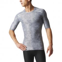 Tee shirt running adidas performance tech fit chill xl