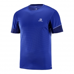 Tee shirt technique de running salomon agile ss tee m l