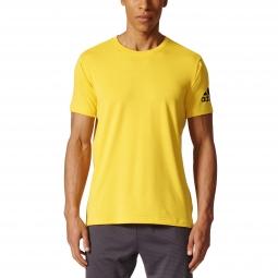 Tee shirt a manches courtes adidas performance freelift prime l
