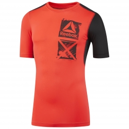 Tee shirt reebok activchill graphic m