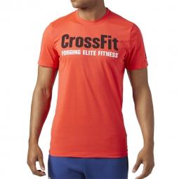 Tee shirt a manches courtes reebok crossfit speedwick t shirt graphic xl