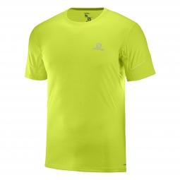 Tee shirt technique de running salomon agile ss tee m m