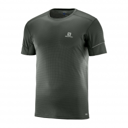 Tee shirt technique de running salomon agile ss tee m xxl