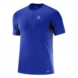 Tee shirt technique de running salomon agile hz ss tee m s