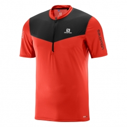 Tee shirt de trail salomon fast wing hz ss tee m s
