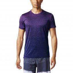 Tee shirt a manches courtes adidas performance freelift gradient m