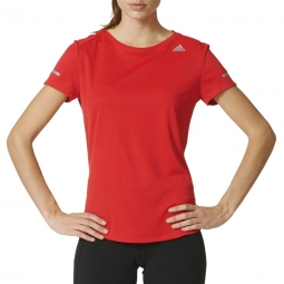 Tee shirt manches courtes running adidas performance t shirt sequencials climalite r