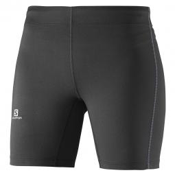 Short de running salomon agile short tight w xs