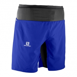 Short de running salomon trail runner twinskin short l
