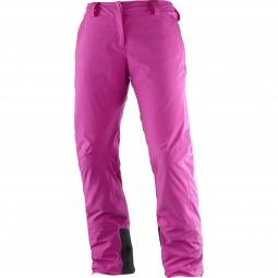 Pantalon de ski salomon icemania pant w m