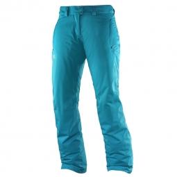 Pantalon de ski salomon stormspotter pant w m