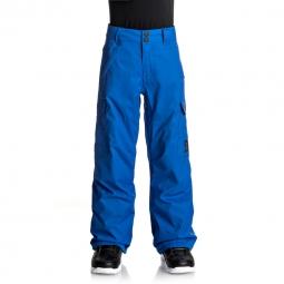 Pantalon de ski dc shoes banshee youth 8 ans
