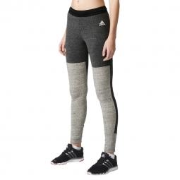 Pantalon de fitness Adidas Performance TRI-BLEND TIGHT