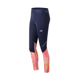 Legging collant de sport new balance accelerate tight printed xs