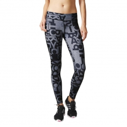 Legging adidas performance legging typo ultimate fit m