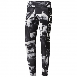 Legging reebok workout smoke print ti xl