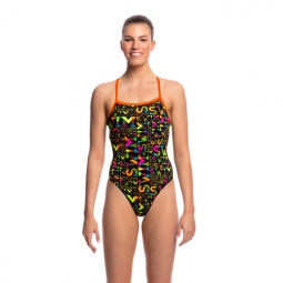 Maillot 1 piece funkita strapped in one piece 38