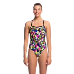 Maillot 1 piece funkita strapped in one piece 44