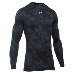 Haut de compression under armour cg armour jacquard crew m