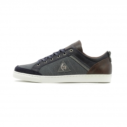 Baskets basses le coq sportif obaldia low leather embossed 43