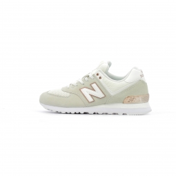 Baskets basses new balance wl574 all day rose 40