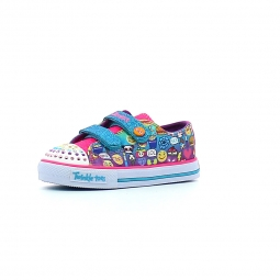 Baskets basses skechers twinkle toes pixel time 21