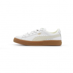 Baskets basses puma basket classic gum deluxe kids 33