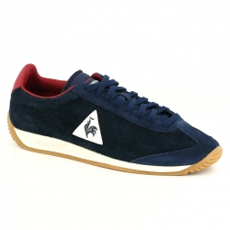 Baskets basses le coq sportif quartz perforated nubuck 40