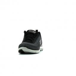 Chaussures de Running Femme Skechers Flex Appeal 2.0 Metal Madness Gris