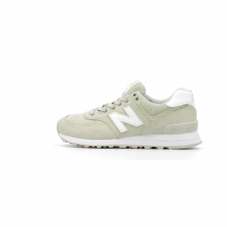 Baskets basses new balance wl574 beach chambray 40