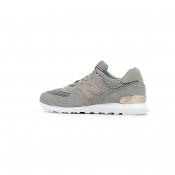 Baskets basses new balance wl574 all day rose 39