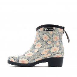 Bottine de pluie aigle miss juliette botillon print 37