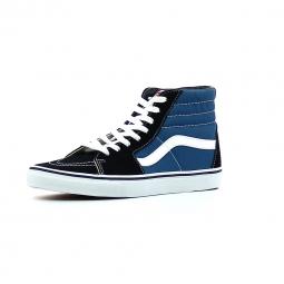 Baskets hautes vans sk8 hi bleu noir 43