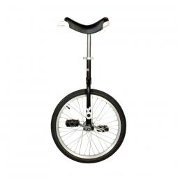 Monocycle onlyone 20 noir avec jante en alu manivelles 114 mm