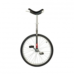 Monocycle onlyone 24 chrome avec jante en alu manivelles 127 mm