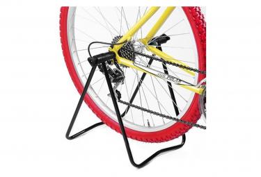Pied pour roue arrière de vélo .
