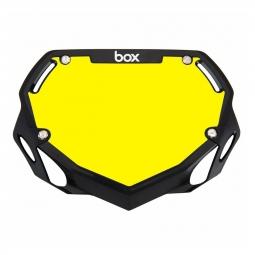 Plaque BOX two mini white et yellow/black