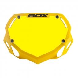 Plaque BOX two mini white et yellow/yellow