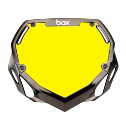 Plaque BOX two pro white et yellow/chrome black