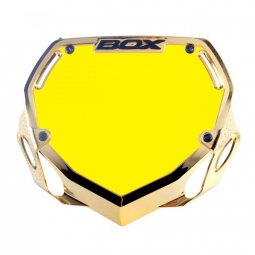 Plaque BOX one pro white et yellow/chrome gold