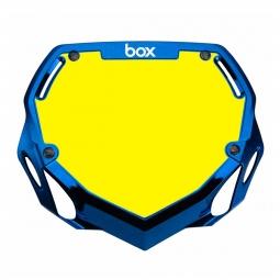 Plaque BOX two pro white et yellow/chrome blue