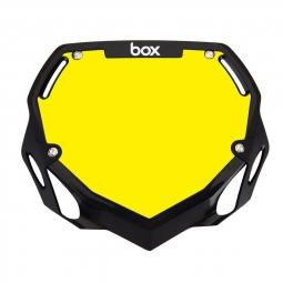 Plaque BOX two pro white et yellow/black