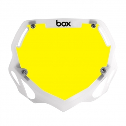 Plaque BOX two pro white et yellow/trans white