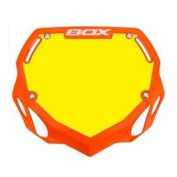 Plaque BOX one pro white et yellow/orange
