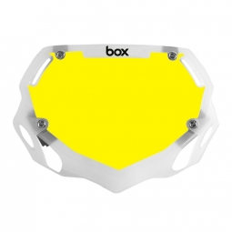 Plaque box two mini white et yellow trans white