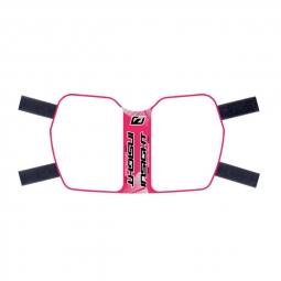 Plaque de cadre INSIGHT vision en plastique souple velcro pink
