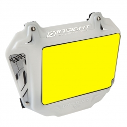 Plaque INSIGHT 3D vision expert yellow/white