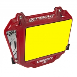 Plaque INSIGHT 3D vision expert yellow/red