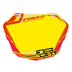 Plaque INSIGHT vision 2 mini yellow/red